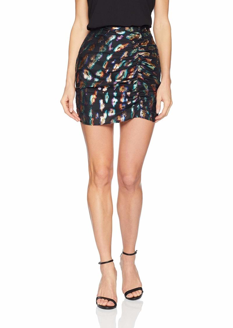 GUESS Women's Inari Jacquard Skirt