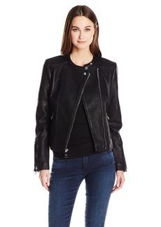 Guess Women's Jazmin Saint Moto Jacket  M R