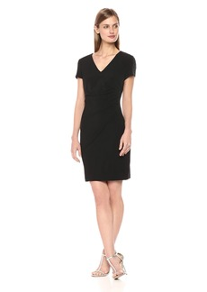 GUESS Women's Jersey Dress with Shoulder Embellishment