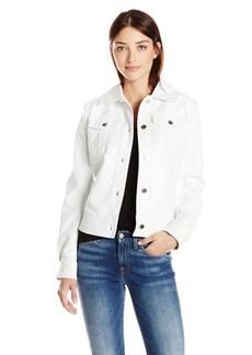 GUESS Women's Jessica Jacket True White A S