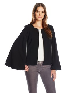 Guess Women's Kayla Cape Crepe Jacket  XL