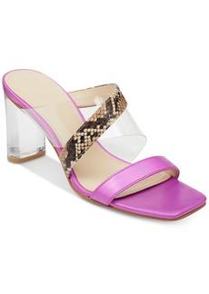 Guess Women's Kicie Lucite Dress Sandals Women's Shoes