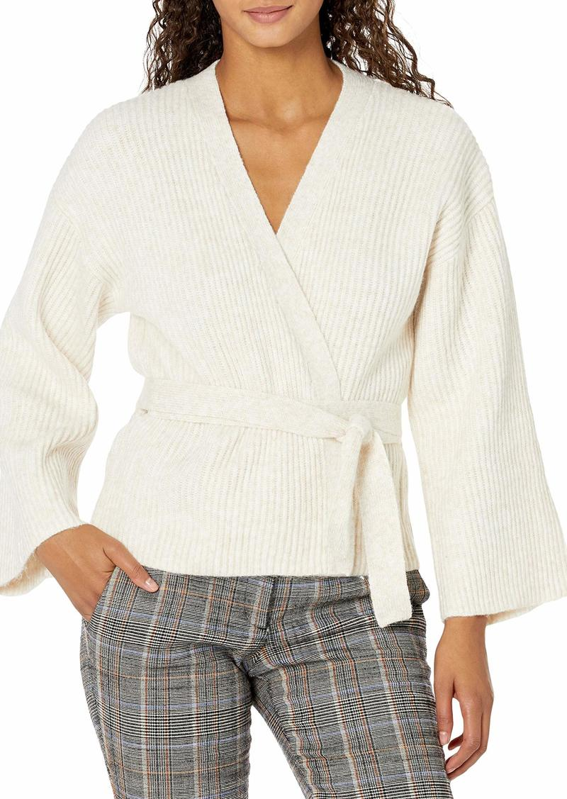 GUESS Women's Kimono Sleeve Luiza Wrap Sweater