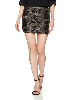 GUESS Women's Klara Sequin Skirt