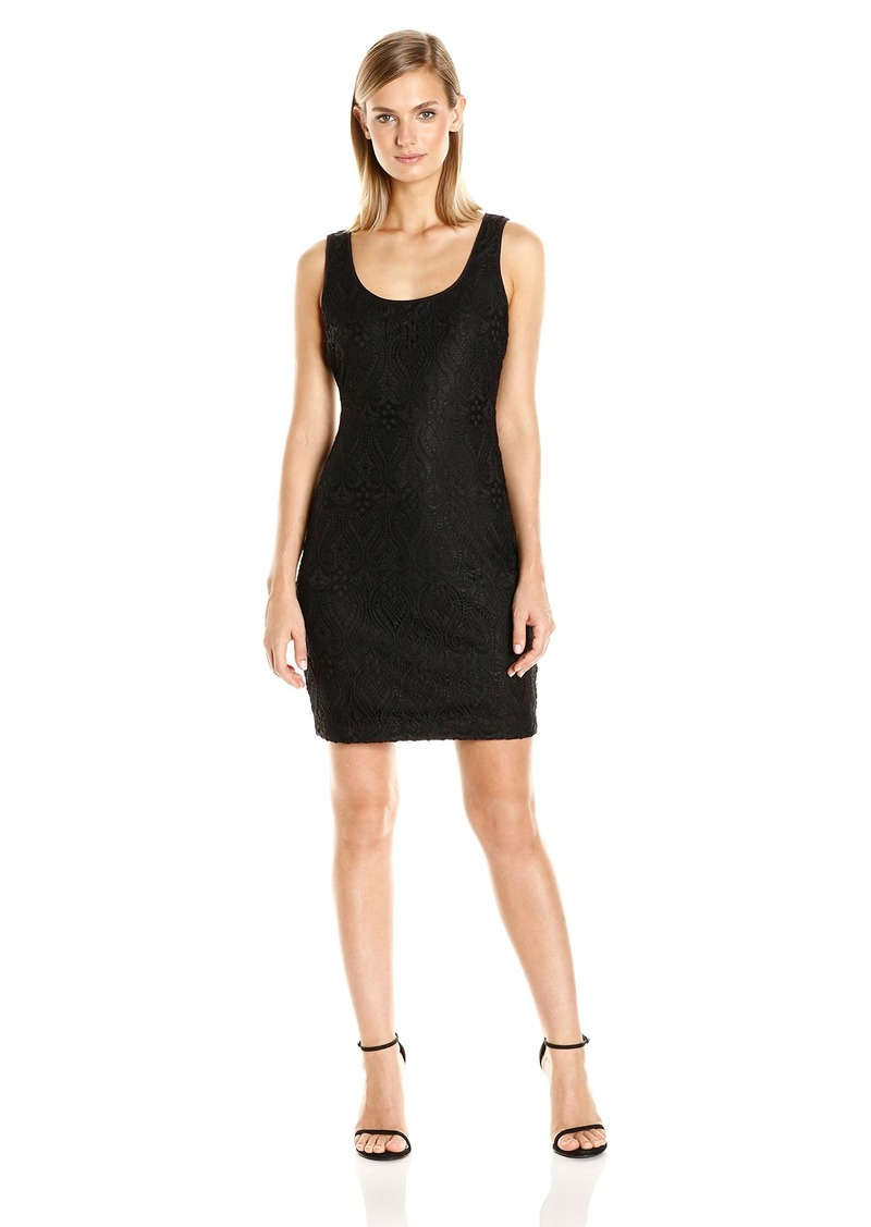 GUESS Women's Lace Tank Top Dress