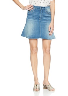 GUESS Women's Lace Up Flared Skirt  wash M