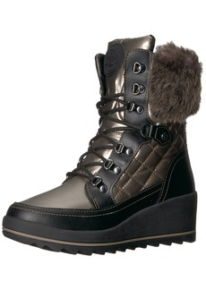 GUESS Women's Leland Mid Calf Boot   Medium US