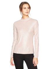 Guess Women's Long Avalon Ruffle Sleeve Top  S