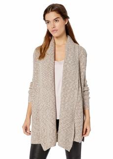 GUESS Women's Long Sleeve Angeleica Drape Front Cardigan  XL