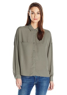 GUESS Women's Long Sleeve Anson Shirt  M