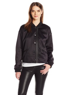 Guess Women's Long Sleeve Astor Bomber Jacket  L R