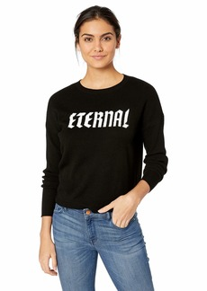 GUESS Women's Long Sleeve Aztrid Chenille Sweater  XS