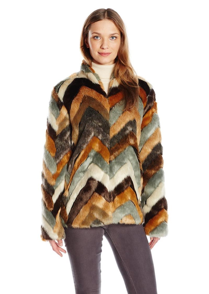 28b445280 Women's Long Sleeve Babita Faux Fur Coat M