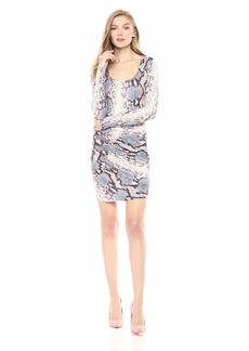 GUESS Women's Long Sleeve Cierra Dress  M