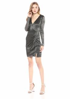 GUESS Women's Long Sleeve Cosmo Dress  L