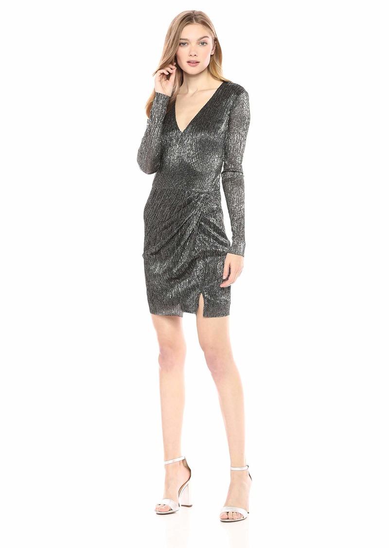 GUESS Women's Long Sleeve Cosmo Dress  S