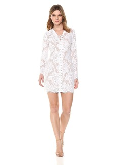 GUESS Women's Long Sleeve Dakota Dress