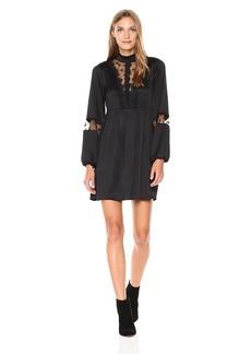 GUESS Women's Long Sleeve Dita Dress