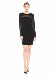 GUESS Women's Long Sleeve Galaxy Dress  S