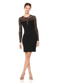 GUESS Women's Long Sleeve Gisele Dress  a S