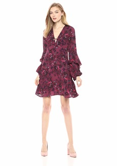 GUESS Women's Long Sleeve Ileana Dress  XS