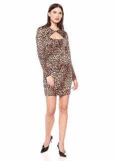 GUESS Women's Long Sleeve Joslyn Dress  XS