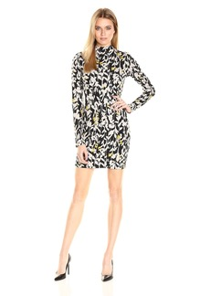 Guess Women's Long Sleeve Kadian Bodycon Dress  M R