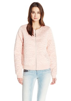 Guess Women's Long Sleeve Kinley Quilted Jacket  M R