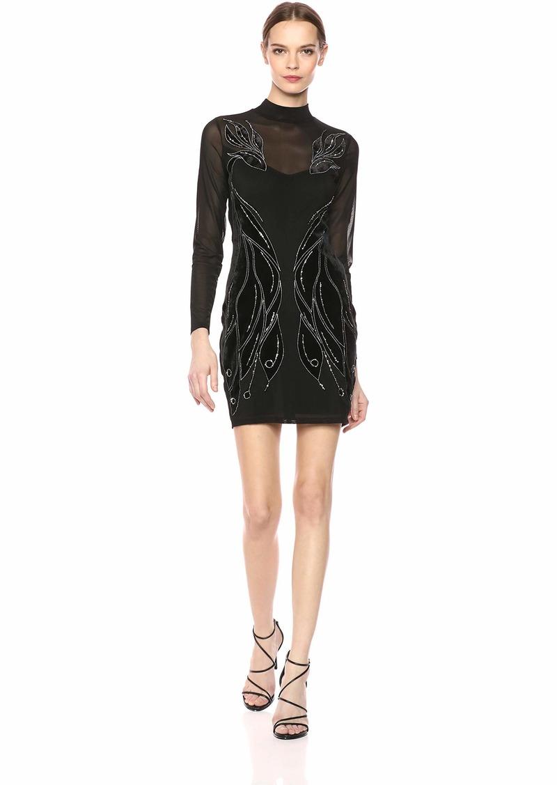 GUESS Women's Long Sleeve Linda Dress  M