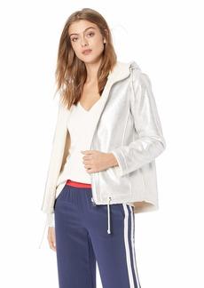 Guess Women's Long Sleeve Lisa Faux Fur Lined Jacket  M