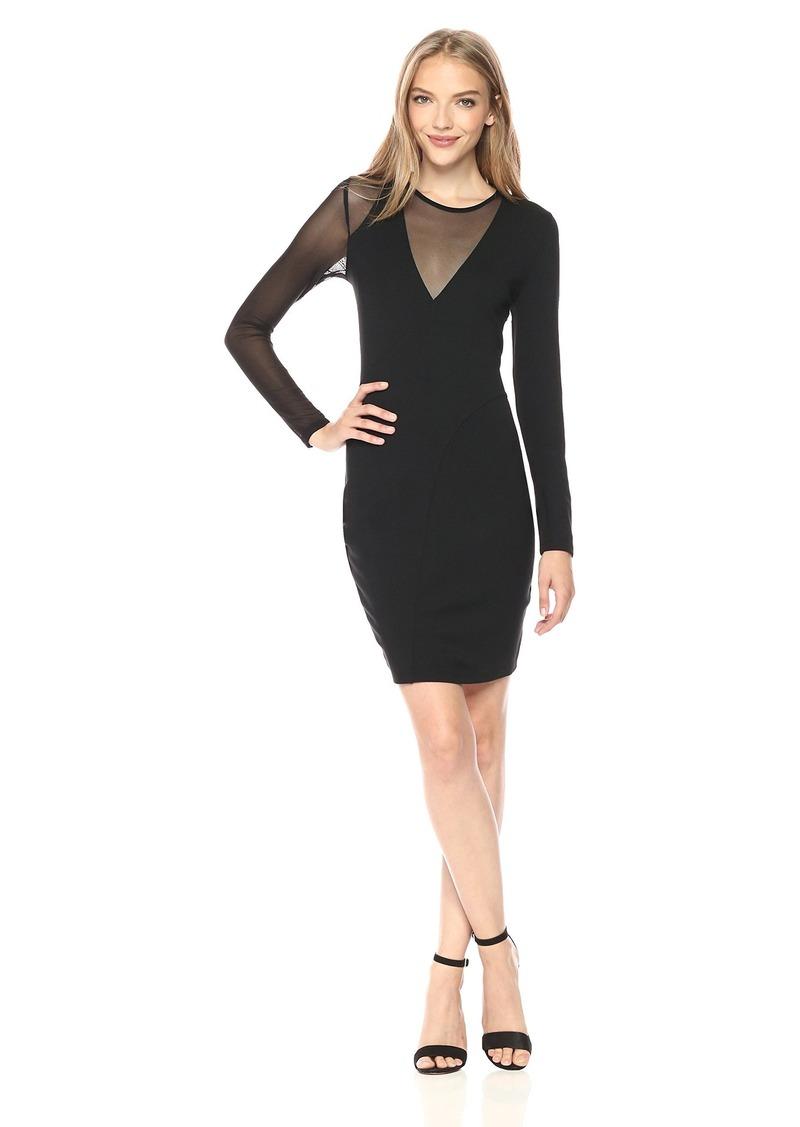 GUESS Women's Long Sleeve Nyla Dress