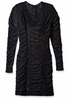 GUESS Women's Long Sleeve RIA Dress  L