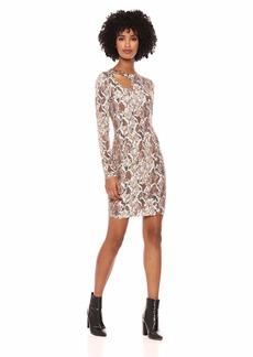 884b7190f83 GUESS Guess Women s Long Sleeve Carey Slouchy Sweater Dress M