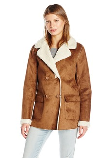 Guess Women's Long Sleeve Simone Jacket Chestnut ulti