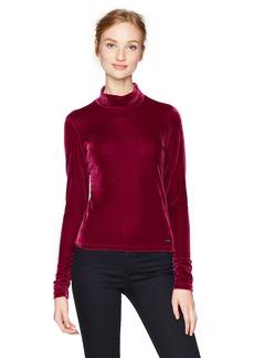 GUESS Women's Long Sleeve Simonne Top