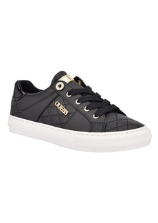 Guess Women's Loven Quilted Lace-Up Sneakers Women's Shoes