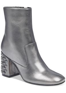 Guess Women's Madeup Studded Block-Heel Booties Women's Shoes