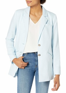 GUESS Women's Maece Blazer Blue ISLE Multi