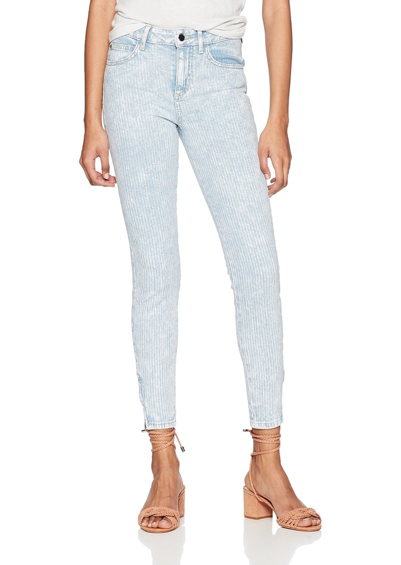 Guess Women's Marilyn 3 Zipper Jean Light wash