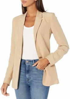 GUESS Women's Mercedes Pin Blazer  Extra Large