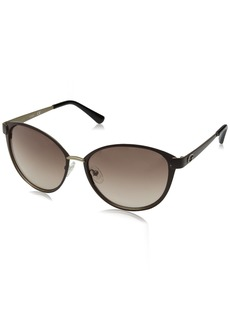 GUESS Women's Metal Soft Cat-Eye Cateye Sunglasses 49F