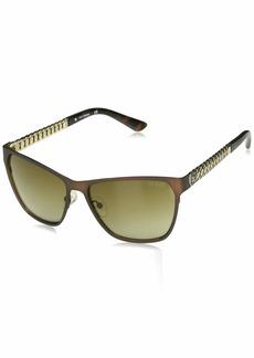 GUESS Women's Metal Square Sunglasses 49F