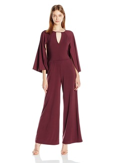 Guess Women's Micah Cape Wideleg Jumpsuit  S