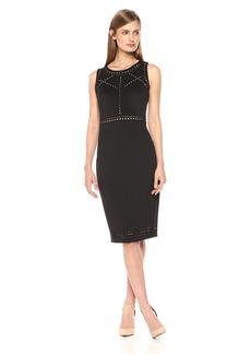 GUESS Women's Midi Dress With Cutouts
