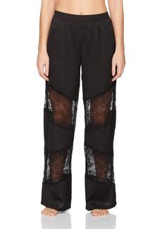 GUESS Women's Mixed Lace Pant  M