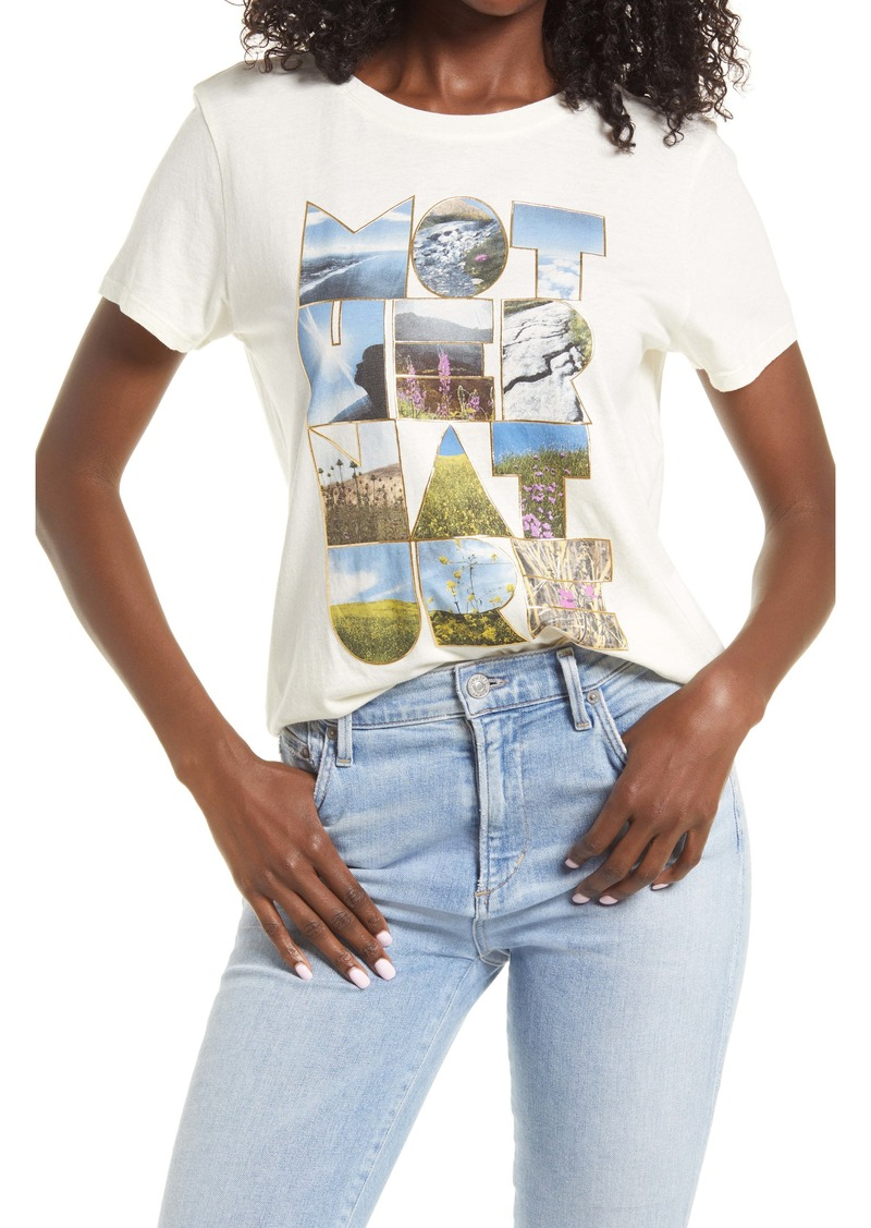GUESS Women's Mother Nature Graphic Tee