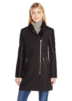 Guess Women's Mutlu Quilted Coat