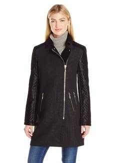 Guess Women's Mutlu Quilted Coat