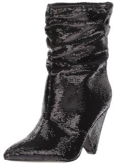 GUESS Women's NAKITTAN Mid Calf Boot   Medium US