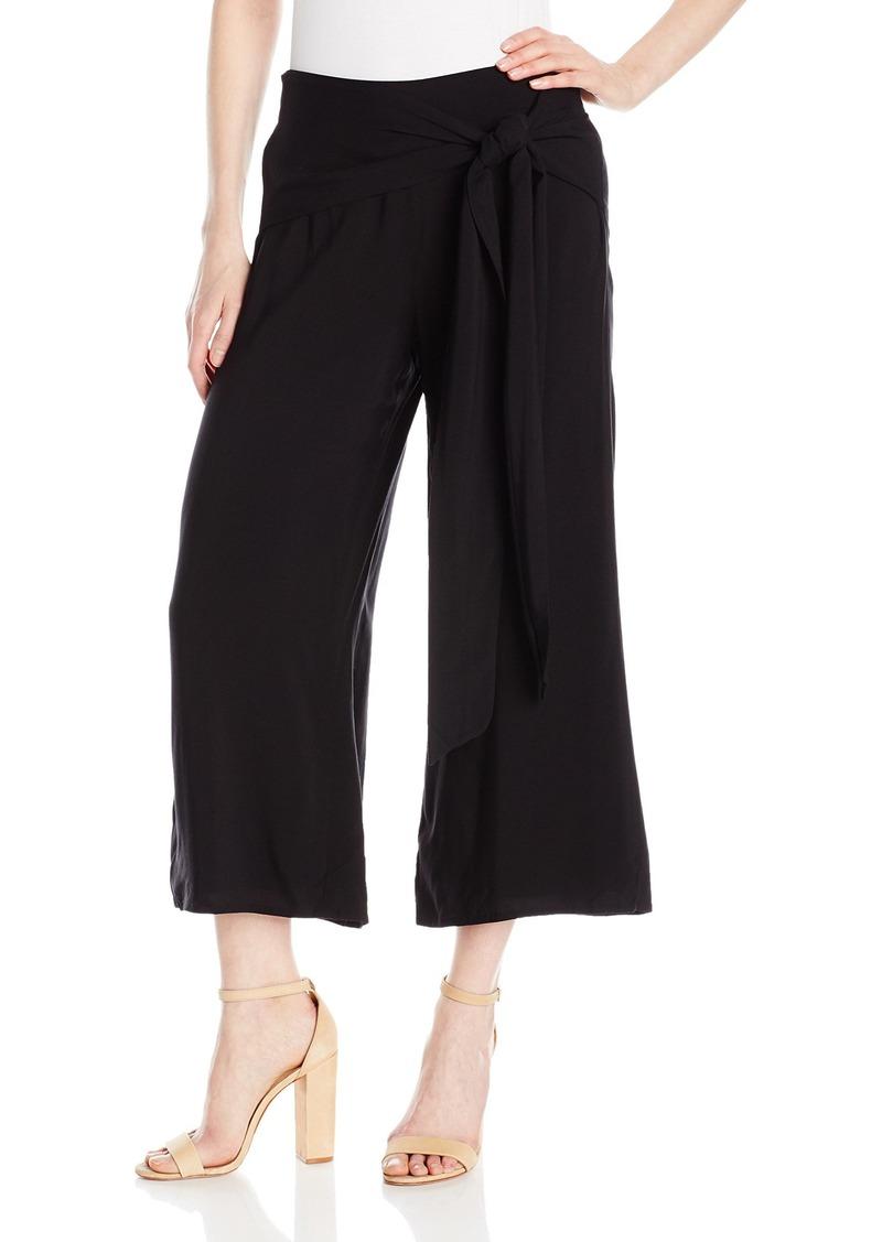 GUESS Women's Nicci Wrap Pant Jet Black A A